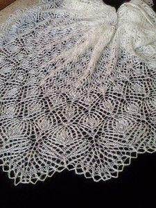 Любительницы шалей спицами - 4