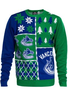 Vancouver Canucks Ugly Christmas Sweater