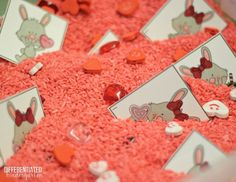 Differentiated Valentine's Sensory Activities from A Year of EASY Sensory Table Fillers and Activities-Differentiated Kindergarten