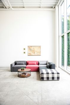 Gus* Modern launched a modular furniture collection and eight, new patterned fabrics to boot. Appropriately named Mix,