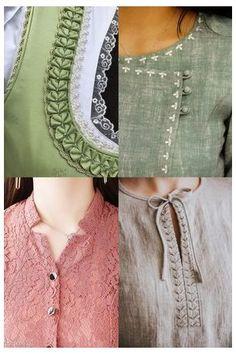 Salwar Suit Neck Designs, Neck Designs For Suits, Kurta Neck Design, Neckline Designs, Sleeves Designs For Dresses, Fancy Blouse Designs, Stylish Dress Designs, Blouse Neck Designs, Kurti Back Neck Designs