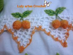 Limão feito de crochet.     Maracujá feito de crochet.          Carambola feita de crochet.     Pêssego em crochet.         M...
