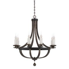 Found it at Joss & Main - Neve 8-Light Candle Chandelier