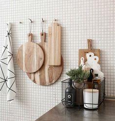 """Hübsch interior baskets """"Noah"""" set of 3 – Decor Ideas Kitchen Styling, Kitchen Decor, Kitchen Tiles, Decoration Chic, Modern Kitchen Interiors, Ideas Para Organizar, Ideas Hogar, Kitchen Corner, Scandinavian Kitchen"""