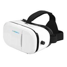 Gafas VR (Realidad Virtual) Luxebell 3D Gafas de Realidad Virtual con Auriculares, Correa Graduable para 3D Películas - https://realidadvirtual360vr.com/producto/gafas-vr-luxebell-3d-gafas-de-realidad-virtual-con-auriculares-correa-ajustable-para-3d-pelculas-y-juegos-compatible-con-4-7-6-inches-smartphone-iphone-5-5s-6-6s-soportew-de-telfono-blanco/ #RealidadVirtual #VirtualReaity #VR #360 #RealidadVirtualInmersiva