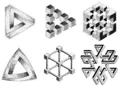 Illusions Dotwork Tattoo Design