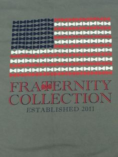 Classic Screenprints - Fraternity Collection - long sleeve $28