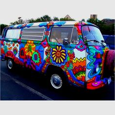 1960 This could be my new ride. I would love to have this. Of course my kids would never ride with me. Except Amber my granddaughter, she is a hippie like me.