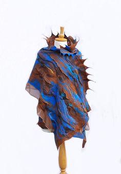 Hey, I found this really awesome Etsy listing at https://www.etsy.com/listing/180308133/nuno-felted-scarf-felt-scarf-felted