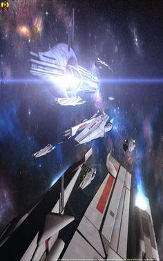 Arcturus Fleet by Euderion on deviantART