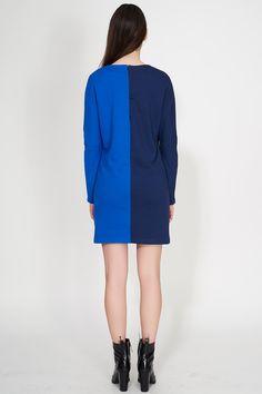 #BUREAU #TONIC #MCLAUGHLIN #NAVY #BLUE #Women #Clothing #dress #Ozon #Boutique