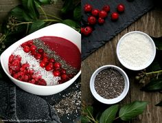 Frozen Berry Smoothie Bowl mit Berry Boost von Natural Mojo   GIVE-AWAY (geschlossen)