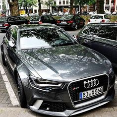 Audi RS6! ---- Photo by @mpcarphotography