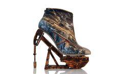 Fantasy Shoe Sculptures by Anastasia Radevich