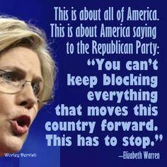 Make your voice heard, vote Nov 4th 2014.   Vote Blue...Vote Democrat