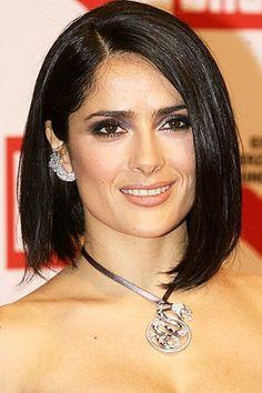 salma hayek hairstyles : selma hayek hairstyle Salma Hayek Hair - Salma Hayek Hairstyles