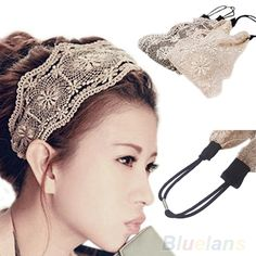>> Click to Buy << Womens Girls Lace Headband Retro Hair Band Wide Heads Hair Accessories 019A #Affiliate