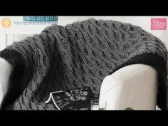 Crochet Quick and Easy Blanket Tutorial - YouTube