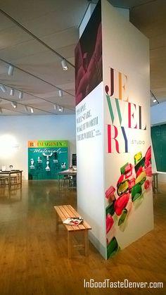 @DenverArtMuseum #jewelrystudio #HandsOn make your own #jewelry as part of the #Brilliant #Cartier exhibit. #Denver