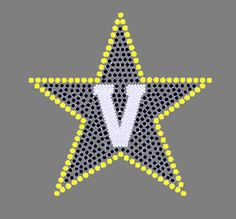 Vanderbilt University Rhinestone Transfer Show your college pride and spirit with heat transfers from Arden's Printing Plus. With cost-effective iron-on transfer selections, it's easy to display allegiance to your school. Whether hanging out with your sorority sisters or attending a lecture, a flattering rhinestone design is sure to get you noticed on campus. Quick, convenient, and affordable, our rhinestone heat transfers make a fun fashion statement!
