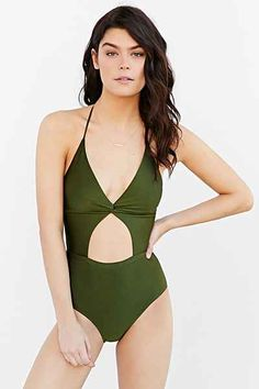 6 Shore Road By Pooja X UO Divine One-Piece Swimsuit - Urban Outfitters