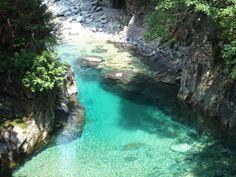 長野の天国のような絶景しってた?長野の「阿寺渓谷」が神秘的すぎる | RETRIP Beautiful Places In Japan, Beautiful World, Places To Travel, Places To Visit, Holiday Places, Japan Photo, Natural Scenery, Great View, Japan Travel