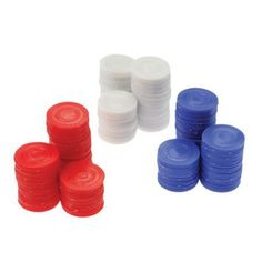 Poker Chips Card Game Bags), Blue: Blue Poker Includes one bag of 100 blue poker chips. Value priced poker chips. Ideal for casino theme parties, gambling, poker, table games. Red Bags, Blue Bags, Casino Theme Parties, Party Themes, Carnival Supplies, Party Supplies, Gambling Machines, Gambling Quotes, Poker Chips
