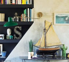 NED CORBETT-WINDER's home is full of eclectic designs #dailymail