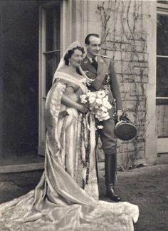 May, 1938 : Marriage of Grand Duchess Kira Kirilovna de Russie (1909-1967) and Prince Louis Ferdinand of Prussia (1907-1994)