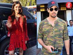 Sidharth Malhotra and Alia Bhatt party together at Shaheen Bhatt's birthday bash