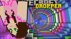 Minecraft: RAINBOW SWIRL! - TALLCRAFT DROPPER - Custom Map [8] - YouTube