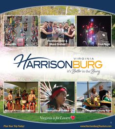 Page 1 of the new 2012-2013 Harrisonburg/Rockingham County Visitor Guide!