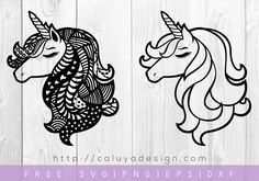 Free Unicorn Mandala SVG, PNG, EPS & DXF by Caluya Design. Compatible with Cameo Silhouette, Cricut and other major cutting machines!Perfect for your DIY projects, Giveaway and personalized gift.