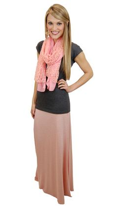 Maxi Skirt ~ Classy & Modest 2013 Spring Trend #http://www.thebluedoorboutique.com/index.php
