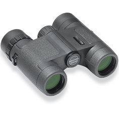 ECHO Compact Binocular. 8X and 10X. Available in Black.Product DetailsSmall in size, surprising in performance, the Echo Compact is built with renowned BaK-4 prism glass, state-of-the-art multi-coating, full waterproof and fog proof performance, and comfortable twist-up eyecups with multi-step long eye relief.SPECIFICATION:BaK-4 prism glassFull multi-coatingWaterproofNitrogen filled/fogproofPolymer frame w/ergonomic body armorTripod/monopod compatiblePower: 8X, 10XObjective diameter: 25mmEye…