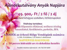 Ajándék Anyunak! ❤️🌸 👩 Lepje meg szeretett Édesanyját május 06-án, Anyák Napján a pihenés és feltöltődés lehetőségével!  További részletes információ:  💻 www.bellevuehotel.hu/anyak_napjara_szeretettel 📧 info@bellevuehotel.hu ☎️ +36-70/310-4285 Fruit