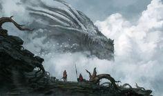 The Old Dragon God by Jorge Jacinto (website |DeviantArt| facebook |tumblr)