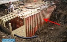 What Happens When You Bury a Shipping Container | Ask a Prepper                                                                                                                                                                                 More