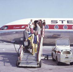 Carsten Wolf Andersen, 54, Vanløse. To familier tager sammen på chartertur til Mallorca (1972).
