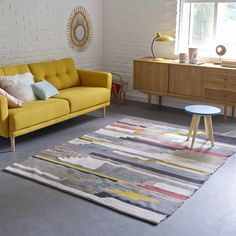 Tapete em lã e algodão, akenza La Redoute Interieurs | La Redoute