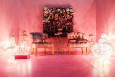 ~Classy creature ~ the glam room, all pink with some more pink