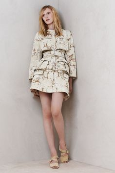 Alexander McQueen Resort 2014 [Courtesy Photo]