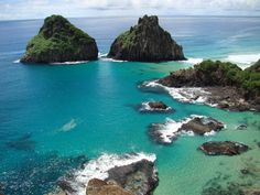 Island of Fernando de Noronha Hotels And Resorts, Best Hotels, Brazil Beaches, South American Countries, Find Hotels, Travel Agency, Hostel, Places To Go, February