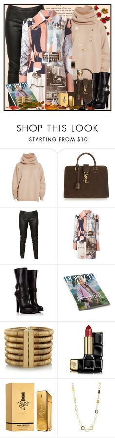 """""""Everything!!"""" by debbi3 ❤ liked on Polyvore featuring Acne Studios, Yves Saint Laurent, Michael Kors, Carven, Dsquared2, Balmain, Guerlain, Paco Rabanne, Lauren Ralph Lauren and MICHAEL Michael Kors"""