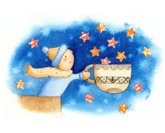 Catching Stars - Kim Fleming Illustration