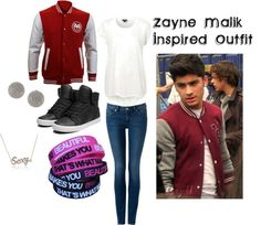 """""""Zayn Malik Inspired Outfit"""" by sortarican829 on Polyvore"""