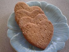 Handcrafted graham crackers by BlueRibbonConfection on Etsy