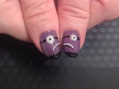 Nails Evil purple minions