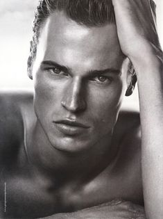 Necessary words... Male model facial structure