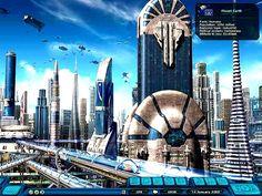 Futuristic Earth City described by Aliens. #Futuristic #FutureCity #Aliens